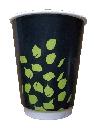 8oz Double Wall Biodegradable Paper Cups